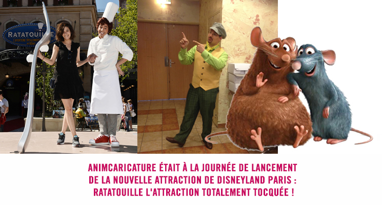 Journée de lancement attraction Ratatouille Disneyland Paris